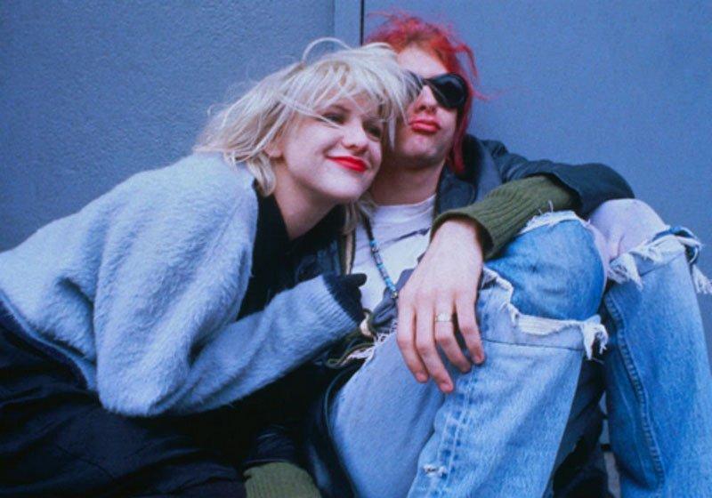 Courtney Love relembra casamento com Kurt Cobain