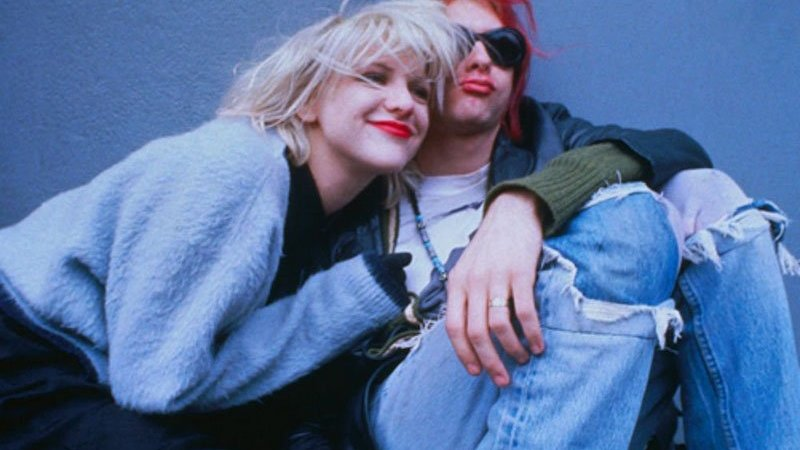 Courtney Love relembra casamento com Kurt Cobain