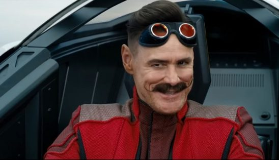 Jim Carrey como Robotinik no filme Sonic