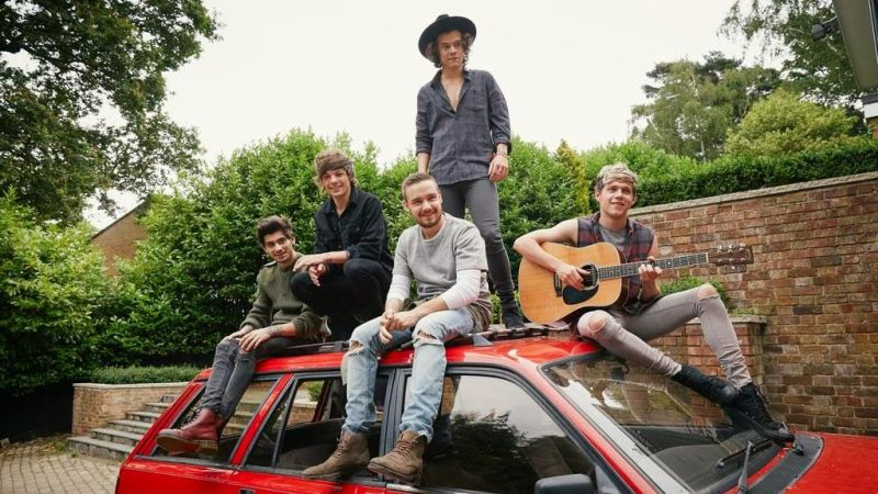 MI INDICA: Volta logo One Direction