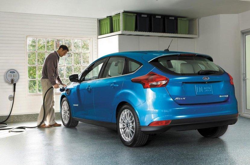 Ford Electrico recarga