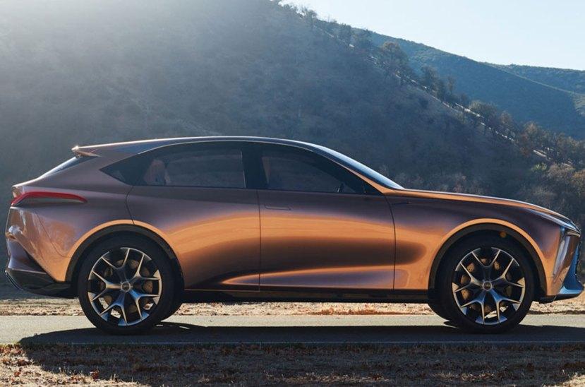 Lexus LF1 perfil