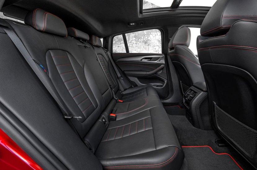 BMW X4 butacas