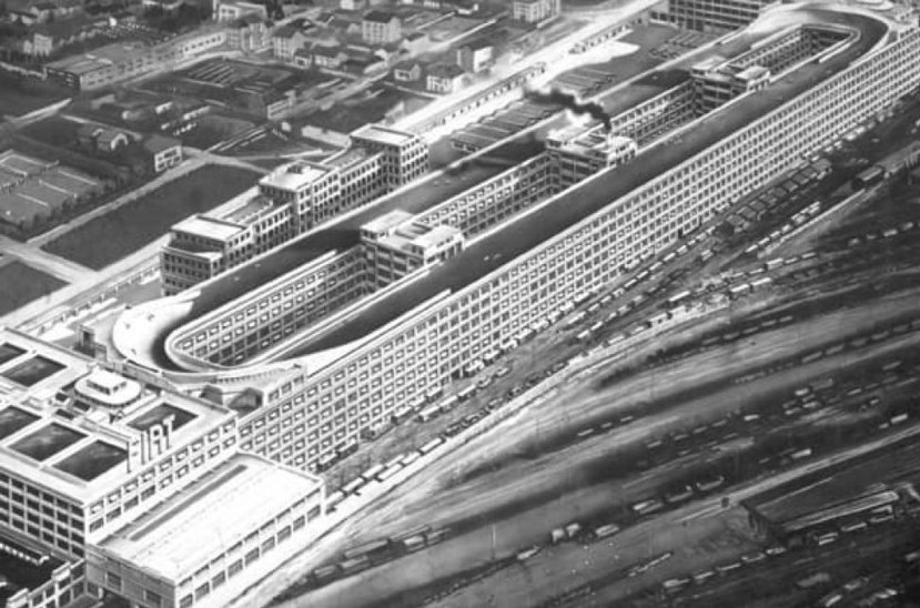 Fábrica de Fiat - Edificio Lingotto