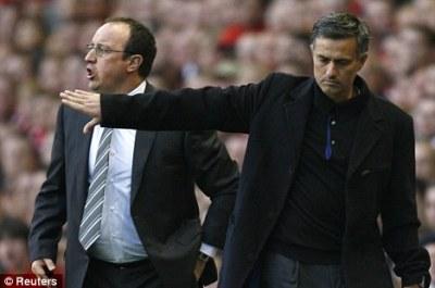 Jose Mourinho si Rafa Benitez