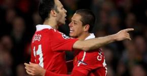 Giggs si Chicarito, Manchester United vs Chelsea 2-1, 12 aprilie 2011