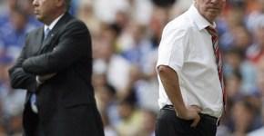 Ancelotti si Ferguson