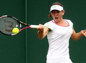 Simona Halep Wimbledon 2011
