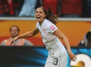 Alex Morgan USA, semifinala WWC 2011