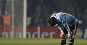 Messi in Copa America Argentina vs Colombia