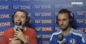Manchester United vs Chelsea 2011 fani comentatori
