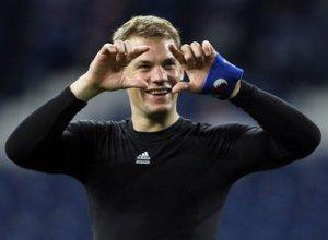 Manuel Neuer 1018 minute fara gol