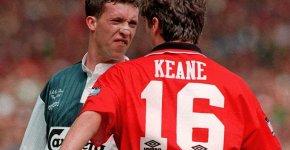 Roy Keane vs Robbie Fowler Manchester United vs Liverpool