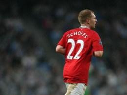 Paul Scholes redebut la Manchester United