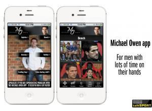 Michael Owen iPhone app
