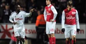 Swansea vs Arsenal 3-2 Arshavin