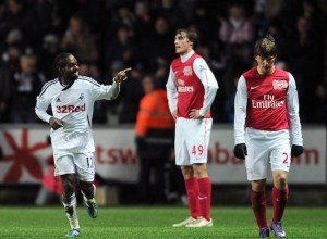 Swansea vs Arsenal 3-2 Arshavin