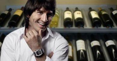 Lionel Messi si vinul Leo