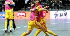 Romania in sferturi la Futsal Euro 2012