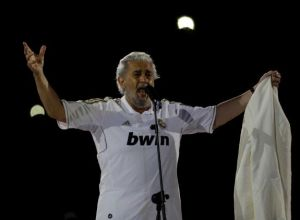 Placido Domingo Real Madrid
