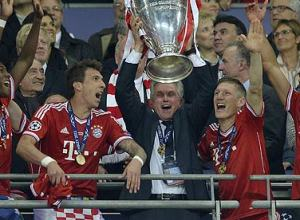 Bayern Munich's head coach Jupp Heynckes after Champions League final at Wembley