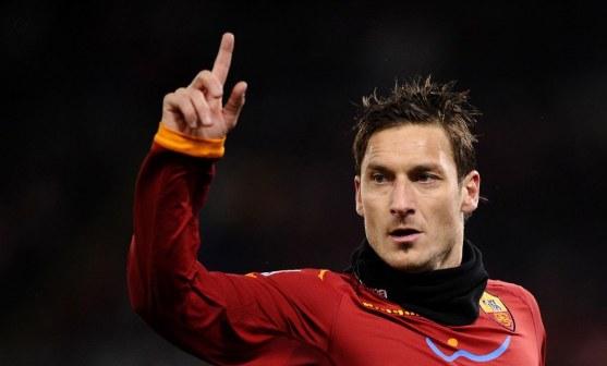 francesco totti as roma Serie A