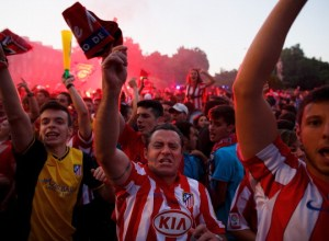 Atletico Madrid Fans React To Their La Liga Match Against FC Barcelona