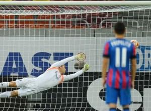 Steaua v Aalborg Europa League