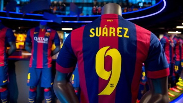 shirt-of-new-fc-barcelona-player-luis-suarez-are-seen