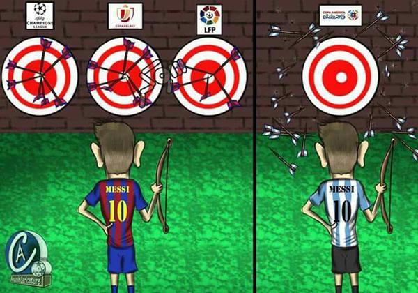 Messi-trofee