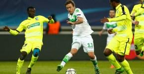 Renato+Neto+KAA+Gent+v+VfL+Wolfsburg+UEFAl