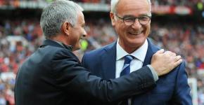 Jose Mourinho Claudio Ranieri
