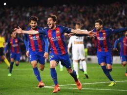 Remontada-FC-Barcelona-v-Paris-Saint-Germain-UEFA-Champions-League-Sergi-Roberto