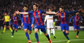 Remontada-FC-Barcelona-v-Paris-Saint-Germain-UEFA-Champions-League-Sergi-Roberto