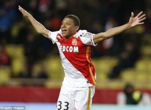 Mbappe AS Monaco Champions League 2016-2017
