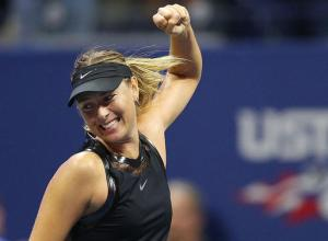 maria sharapova at US Open 2017