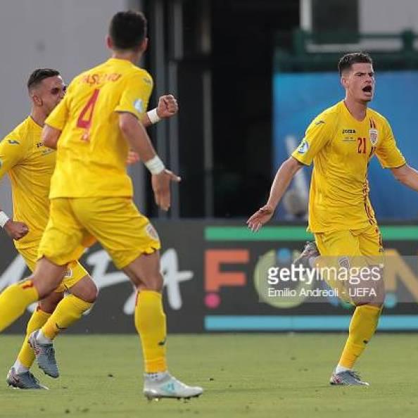 Tudor Baluta of Romania U21, EURO U21, Italy 2019