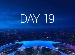 Champions League 2020-2021 - Ziua 19