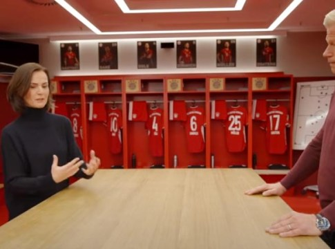 Bayern Munchen şi Audi: Hildegard Wortmann si Oliver Kahn