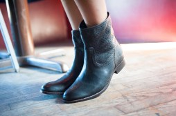 Maggie Perf Boots in Black