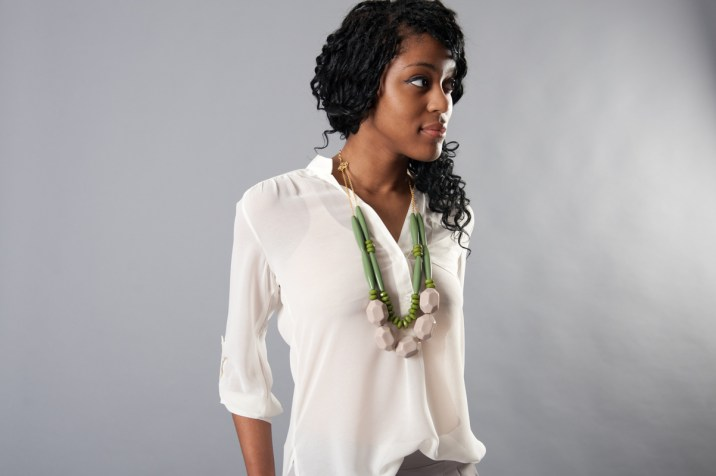 Bold Statement Necklace by David Aubrey