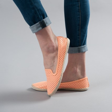 DV Perforated Neon Flats