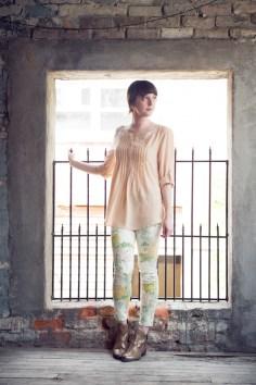Flea Market Floral Jeans by Paige