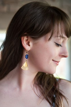 Seven Swans Earrings
