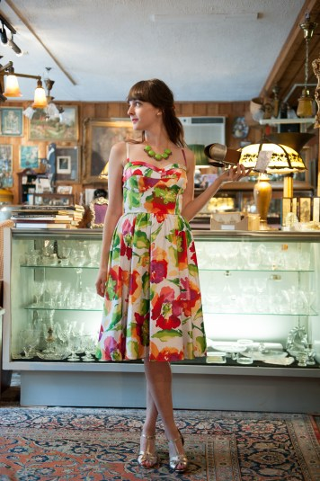 Stop Staring Sunshine Watercolor Dress