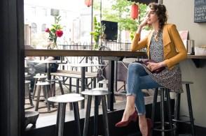 Low Heels in Burgundy Suede by BC Footwear