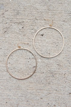 Hoop and Holler Earrings in Matte