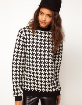 10. Patterned Sweater