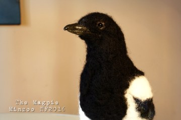 felted magpie