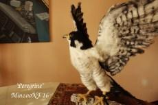 needle felted bird sculpture